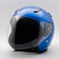 Helm Motor Cargloss Murah YCN New Oakley Blue Met C