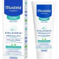 Mustela Stelatopia Emollient Cream 200ml/Cream pelembab Ruam bayi