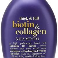 OGX Thick & Full Biotin & Collagen Shampoo 385ml ED panjang 18 Bulan