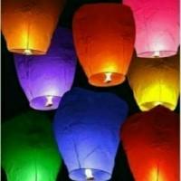 Jual Lampion Terbang / Sky Lantern / Lentera Langit Murah