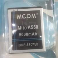 baterai battery mito a550 fantasy style dobel power mco Murah