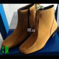 harga Sepatu High Heels Boots Wanita Boot Cewek Elegan Cantik Gaya Cibaduyut Tokopedia.com