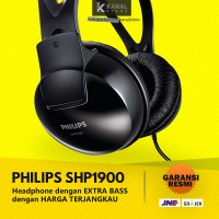 PHILIPS SHP1900 Black Headphones - Original Bass Headphone & Headset
