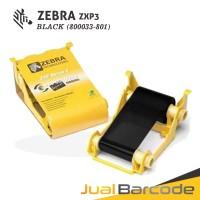 Harga ribbon tinta hitam black printer zebra zxp3 zxp 3 1000 | Pembandingharga.com