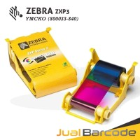 RIBBON TINTA WARNA COLOR PRINTER ZEBRA ZXP3 - ZXP 3 - YMCKO 200 SISI