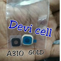 RING CAMERA KACA KAMERA SAMSUNG A310 A3 2016. GOLD