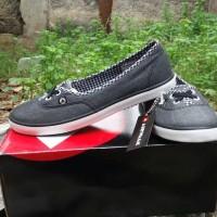 sepatu womens airwalk belolova dark grey abu abu tua only size 38