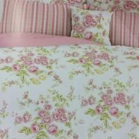 bellyna bedcover set sprei manuela pink star uk 120x200