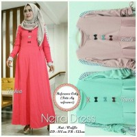 dress maxi gamis longdress wanita hijab muslim baju model baru terbaru