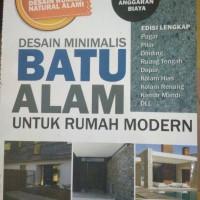 desain minimalis batu alam untuk rumah modern