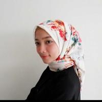 hijab segi empat wolfis/jilbab segi empat/jilbab motif