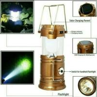 Lentera tarik solar cell lampu emergency camping
