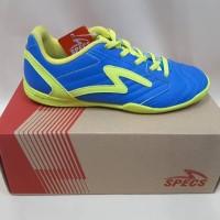 Sepatu Futsal Specs Anak Brave In Jr TulipBlue SolarSlime