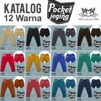 Jual Pocket Jegging Amacol (Size M)/Celana Jegging Anak/Premium Jegging Murah