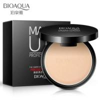 bioaqua make up professional pressed powder. bedak press Natural skin