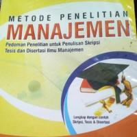 metode penelitian manajemen edisi 5 by augusty ferdinand