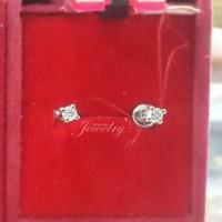 PESANAN KHUSUS Iman Subeji Anting Emas Berlian Asli Natural Diamond