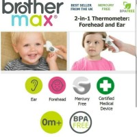 Brother Max 2in1 Thermometer Digital - brothermax termometer bayi
