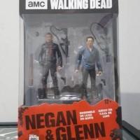 Jual Walking Dead Negan Glenn 2pack MISB Murah