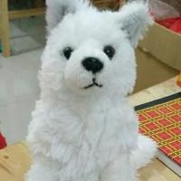 Exported Boneka Anjing Samoyed too