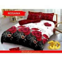 Bed Cover Set Sprei Kintakun Size King Rosana