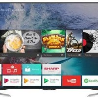 android tv sharp 50inch LC-50ue630x
