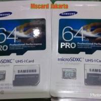 Micro sd Microsd Micro SDXC 64GB SAMSUNG PRO Plus Adapter Memory class