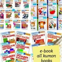 100 e book aktivitas anak (kumon, gakken, brain quest, dll)
