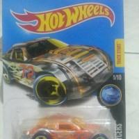 hot wheels stockar reguler oranye dan merah