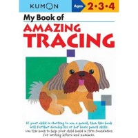 Kumon My Book of Amazing Tracing (Ages 2,3,4)