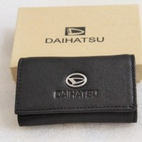 Dompet STNK - gantungan kunci mobil/motor DAIHATSU (100% kulit asli)