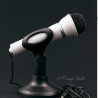 Microphone 3.5mm with Mic Holder utk hp dan PC