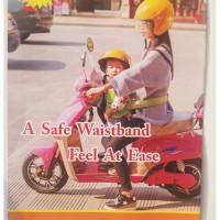 sabuk pengaman anak anak saat boncengan sepeda motor kuat awet