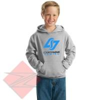 Jaket Hoodie Sweater Anak Counter Logic Gaming Untuk Usia 6-9 Tahun