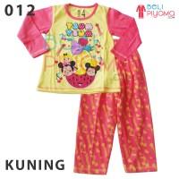 Jual Piyama Anak / Baju Tidur Anak Perempuan / Tsum Tsum Size 2-12 (MX012) Murah