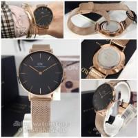 jam tangan wanita daniel wellington Petite Melrose DW Original