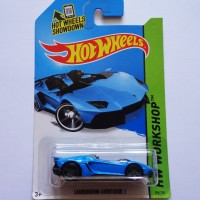 Hot Wheels / Hotwheels Lamborghini Aventador J Blue