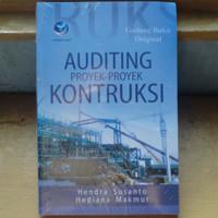 Auditing Proyek Proyek Kontruksi