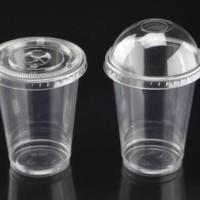 Cup plastik sablon 2 sisi 1 warna 9 gram 22 oz gojek