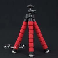 Spider Flexible Tripod Mini dan bonus Holder hp