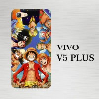 Casing Hardcase HP Vivo V5 Plus One Piece Luffy Crew X4497