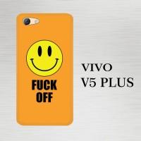 Harga casing hardcase hp vivo v5 plus fuck off smiley | Pembandingharga.com