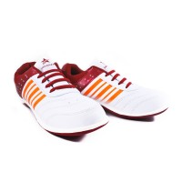Sepatu Running Casual Sport TREKKERS Wanita M-Tiana Putih/Merah Bata