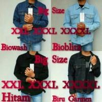 Harga promo jaket jeans big size jaket jeans pria grosir jeans big size | Pembandingharga.com