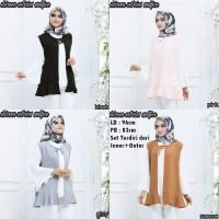 Harga baju fashion atasan wanita shireen set | antitipu.com
