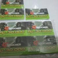 Voucher Gemscool phisik nominal 30 ribu. murah.