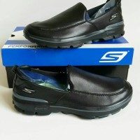 Sepatu Pria Skechers/Skecher/Sketchers/Sketcher GoWalk 3 Leather New