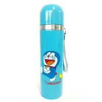 Botol Minum Termos Air Panas Doraemon Stainless Steel Thermos 500ml