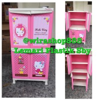 Lemari Napolly Hello Kitty Pintu 4