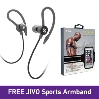 FLEX2 High Performance Sports Earphone Sweatproof SOUL Black